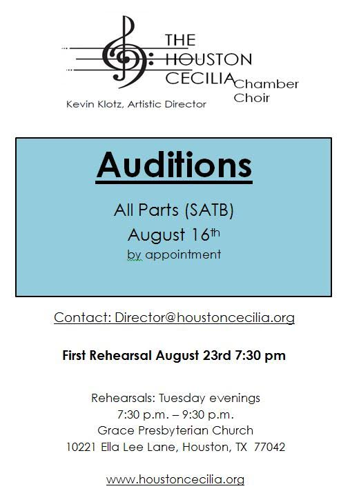 HCCC Auditions
